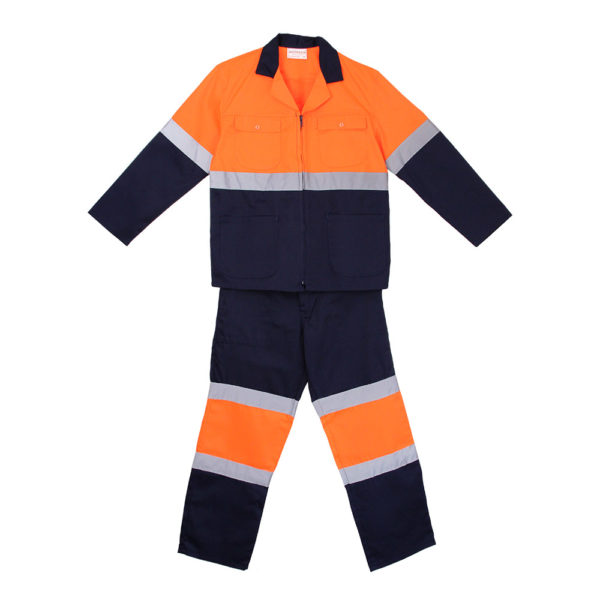 Hi Vis Worksuit Two Tone
