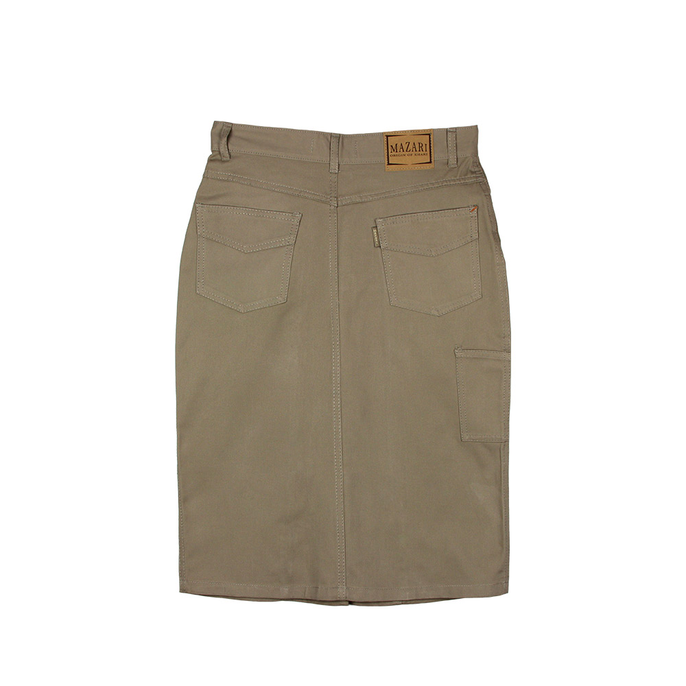 Mazari Ladies Below Knee Skirt