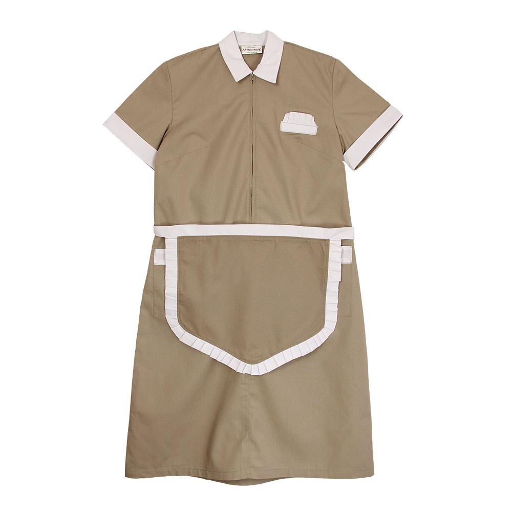 Maid's Uniform with Short Apron