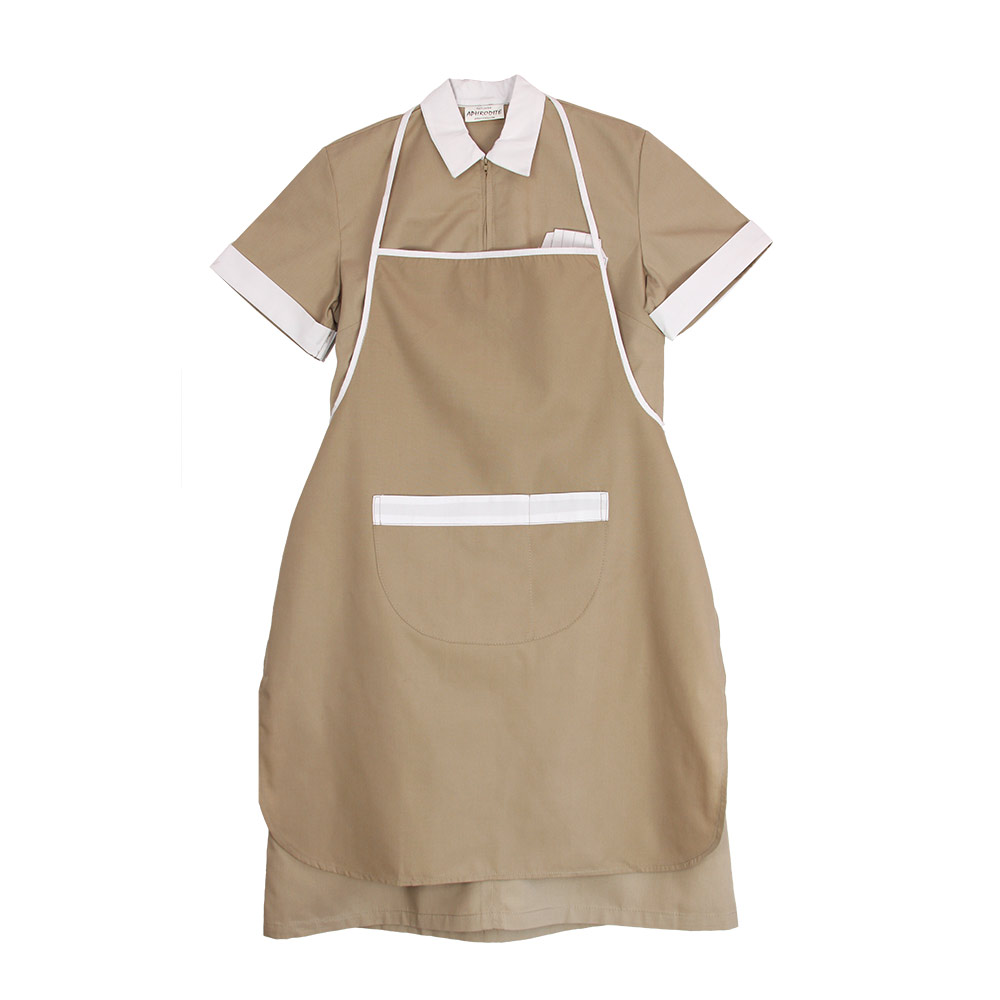 Maid's Uniform with Long Apron