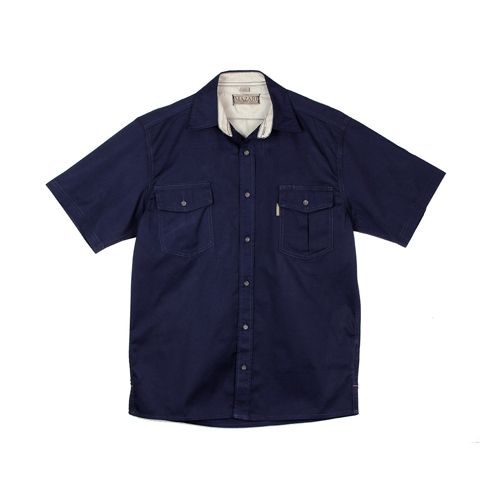 Mazari Men's Short Sleeved Shirt