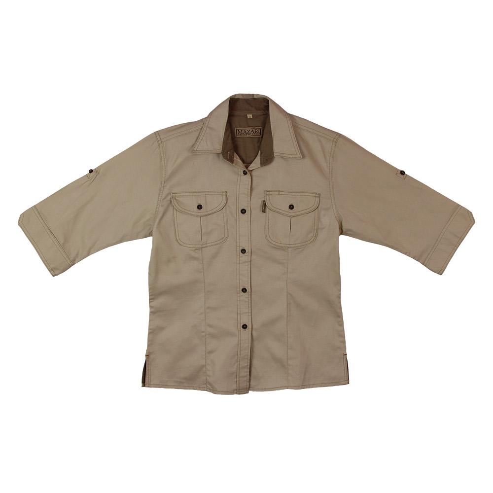 Mazari Three Quarter Sleeve Shirt
