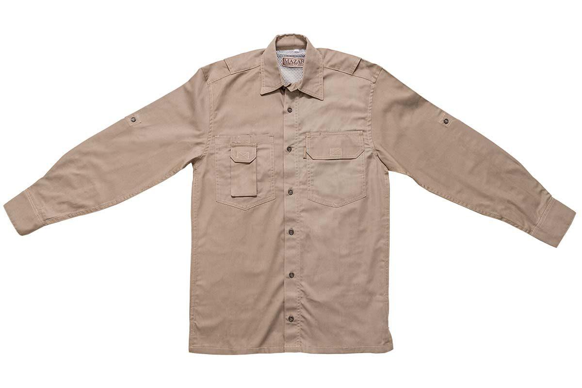 Mazari Fishing Shirt Front