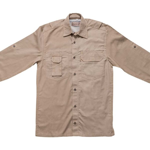 Mazari Fishing Shirt Front